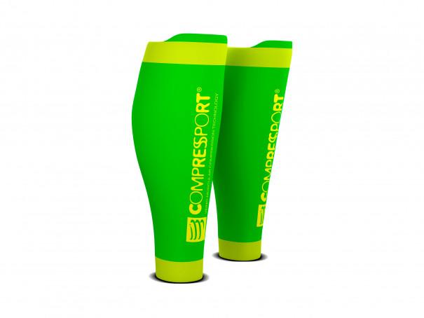 Pantorrilleras R2V2 verde flúor