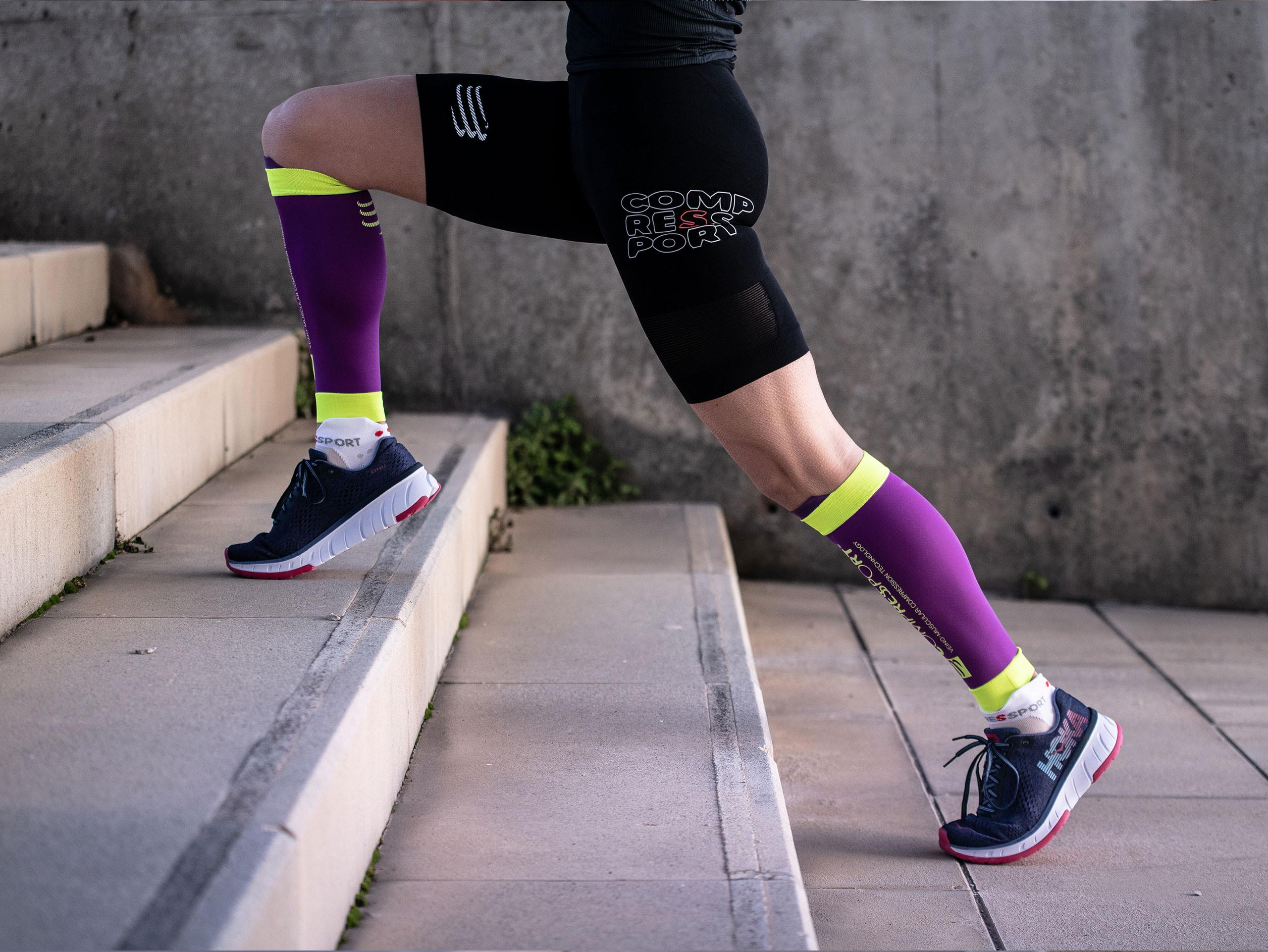 R2V2 calf sleeves purple
