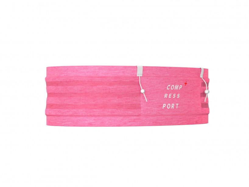 Cinturón Free Pro rosa jaspeado