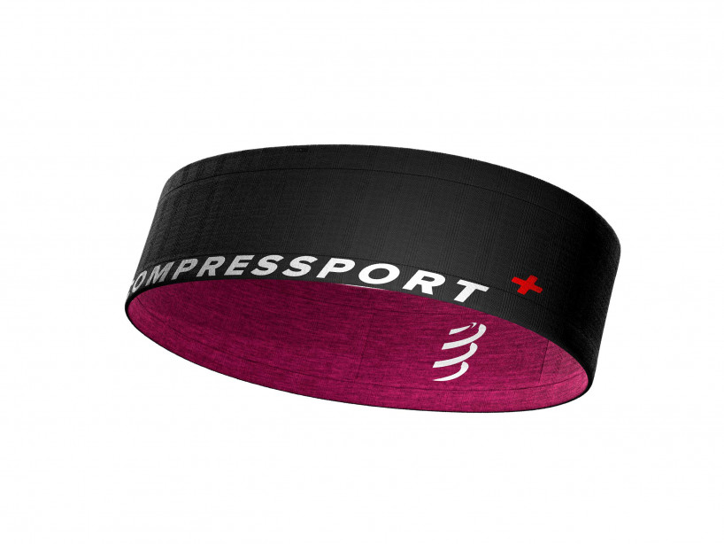 Cinturón Free negro/rosa jaspeado