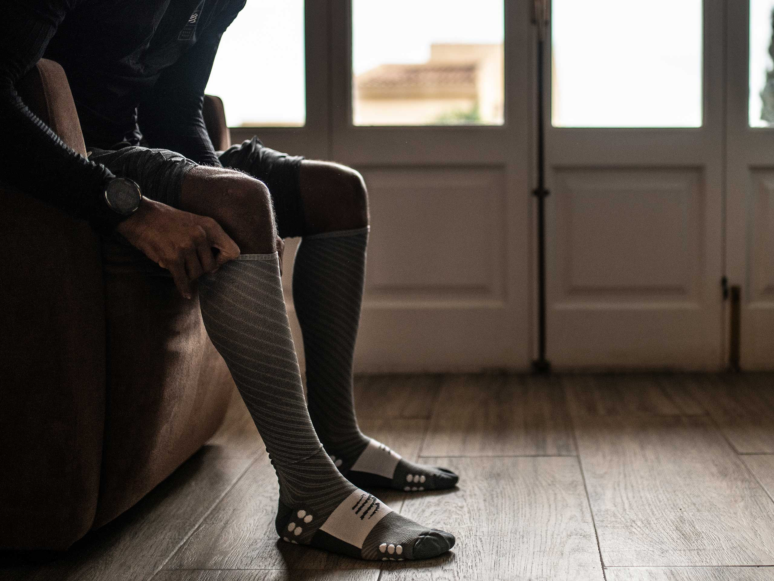 Full Socks Recovery grey melange