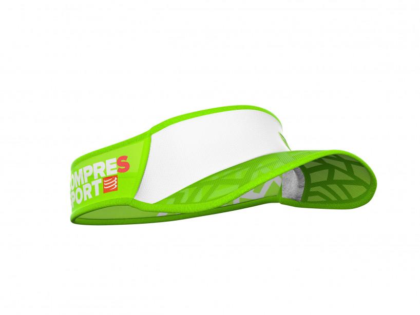 Visiera ultra-leggera Spiderweb bianca/verde