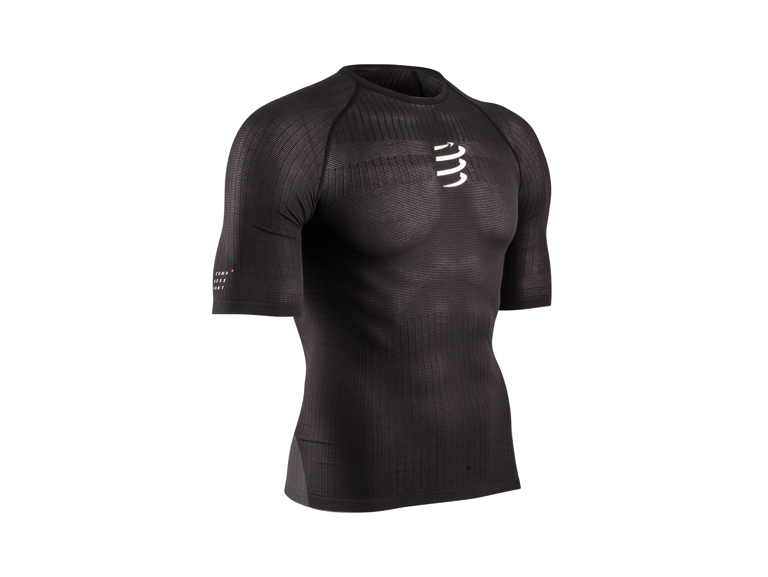 Camiseta 3D thermo 50 g MC negra