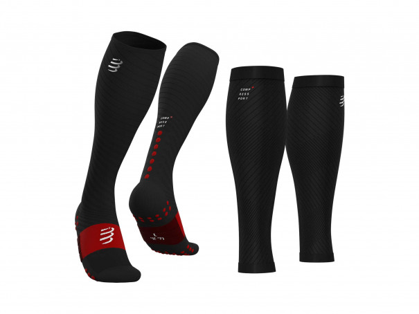 Calcetines altos Ultra Recovery negros