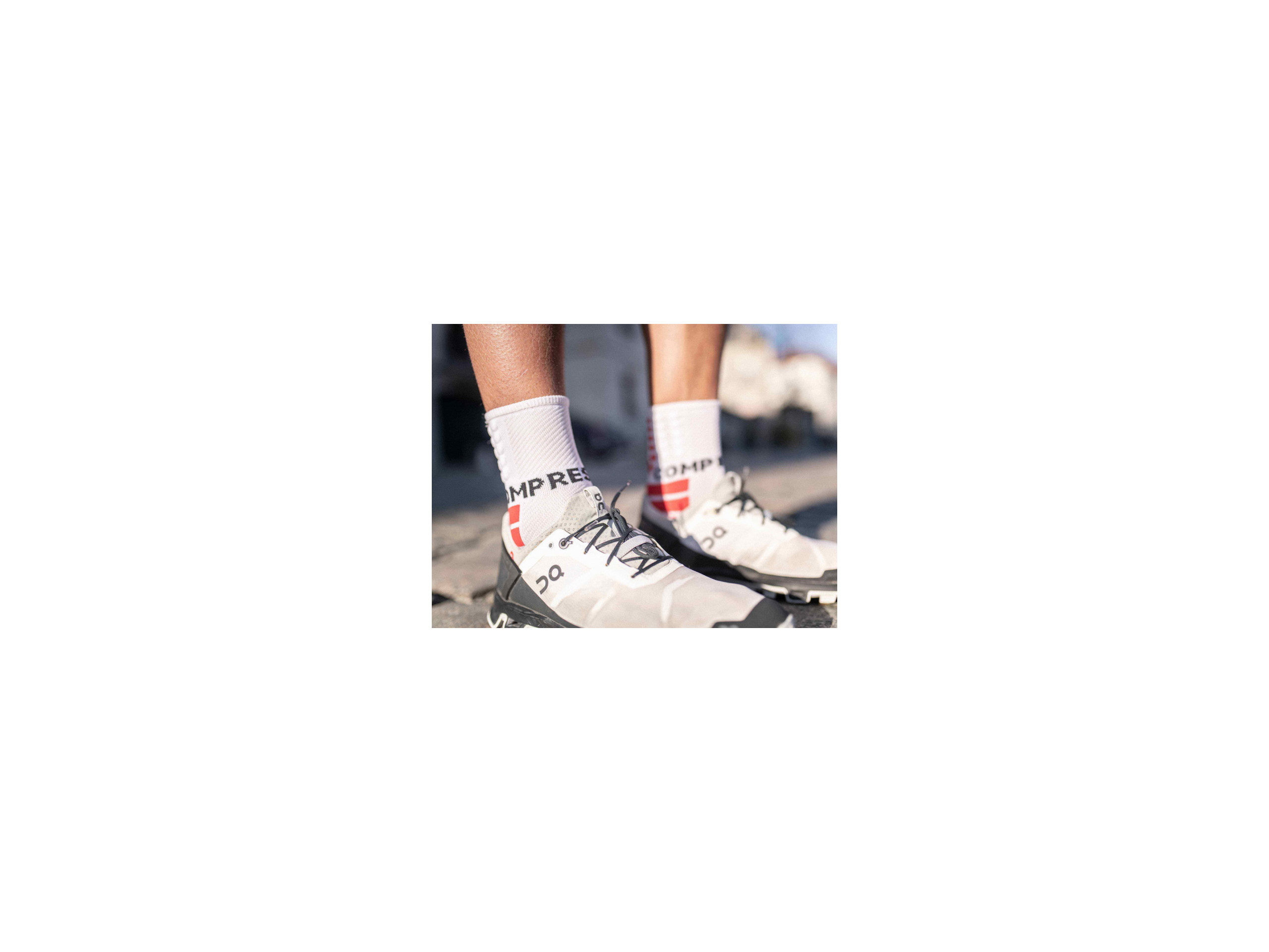 Shock Absorb Socks white