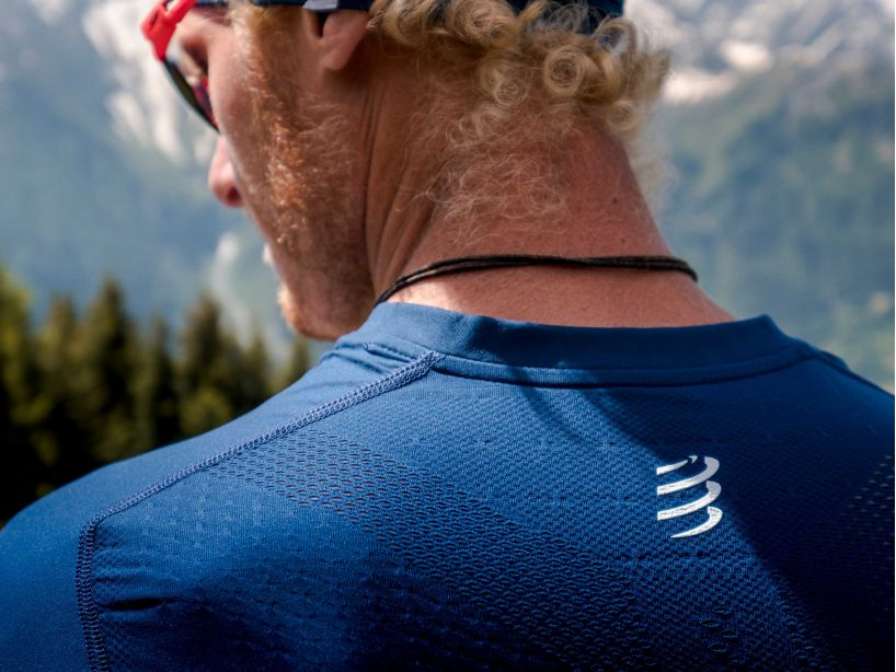 Trail Half-Zip Fitted SS Top - Mont Blanc 2020