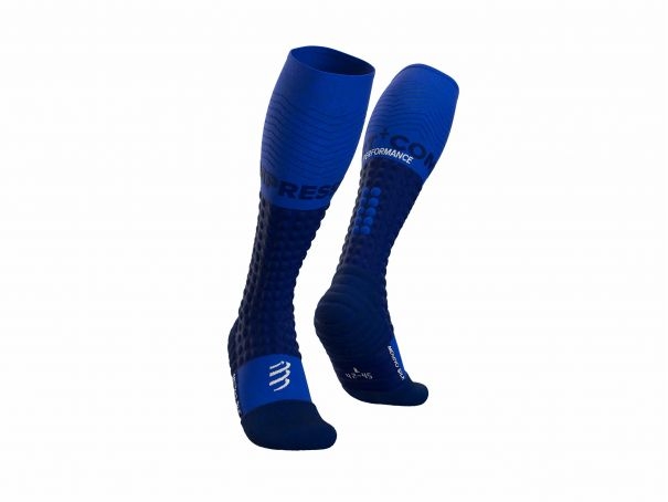 Alpine Ski Merino Full Socks BLUE