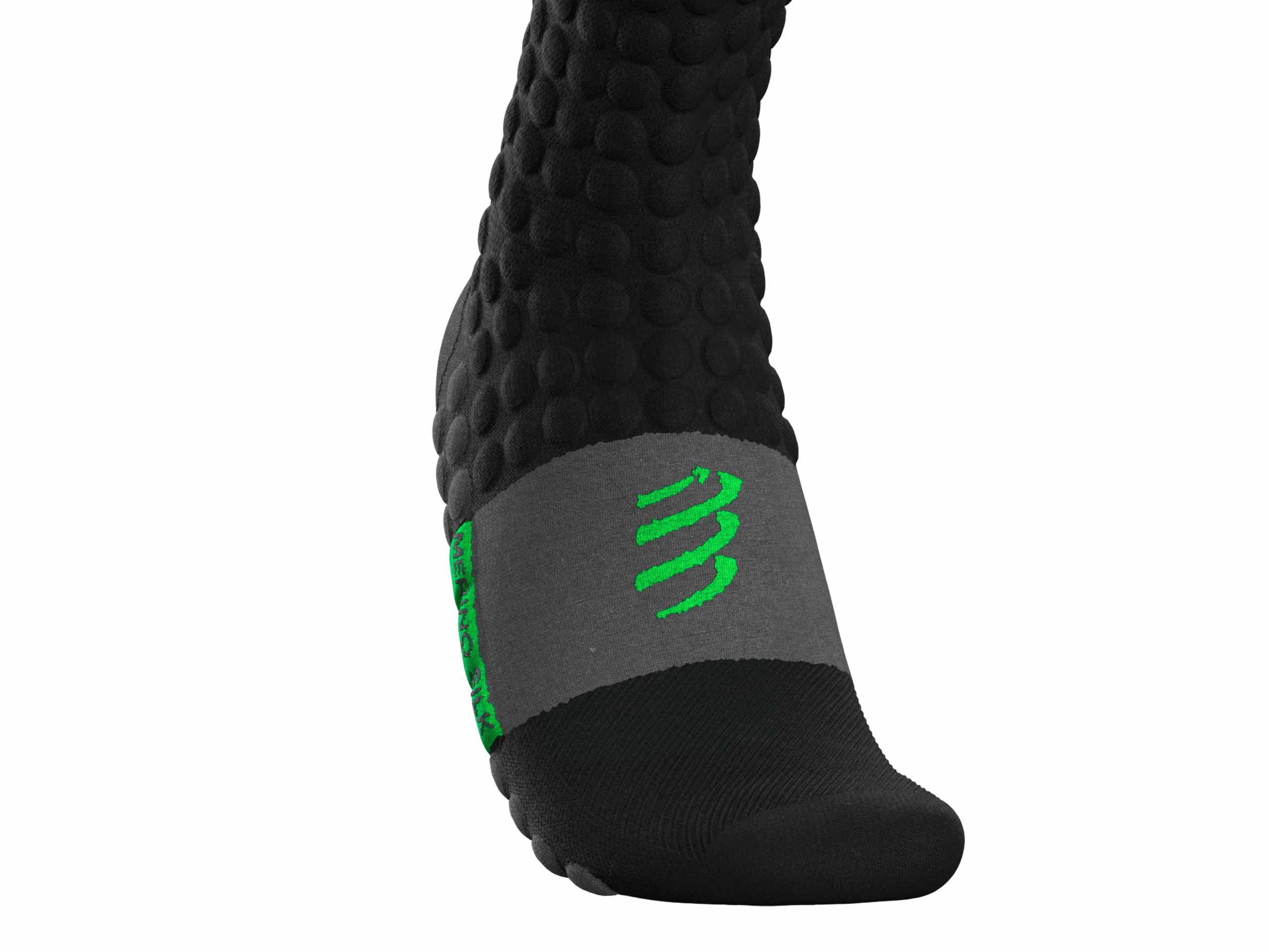 Ski Touring Full Socks BLACK/GREEN