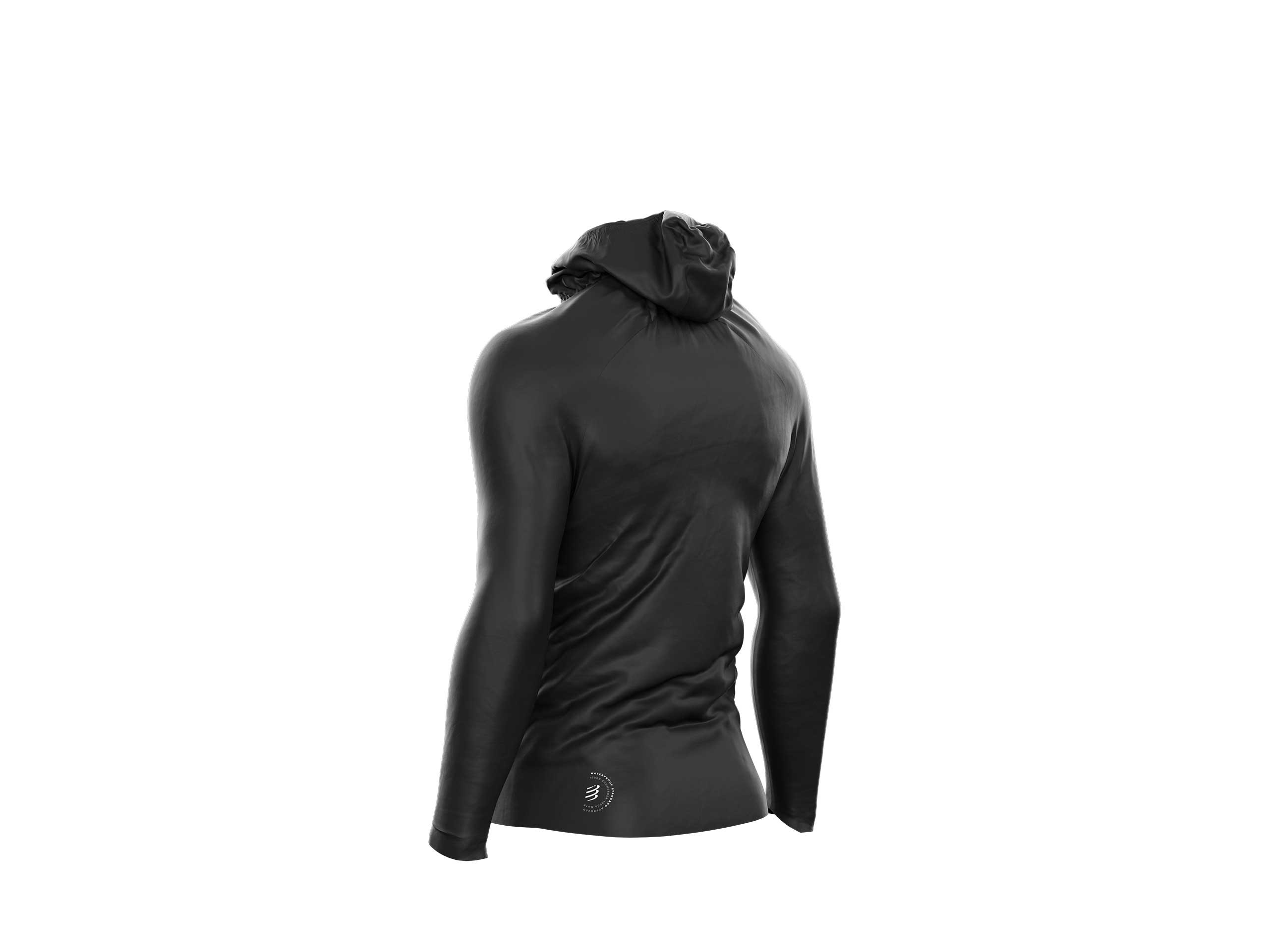 Chaqueta Hurricane Waterproof 10/10 negra