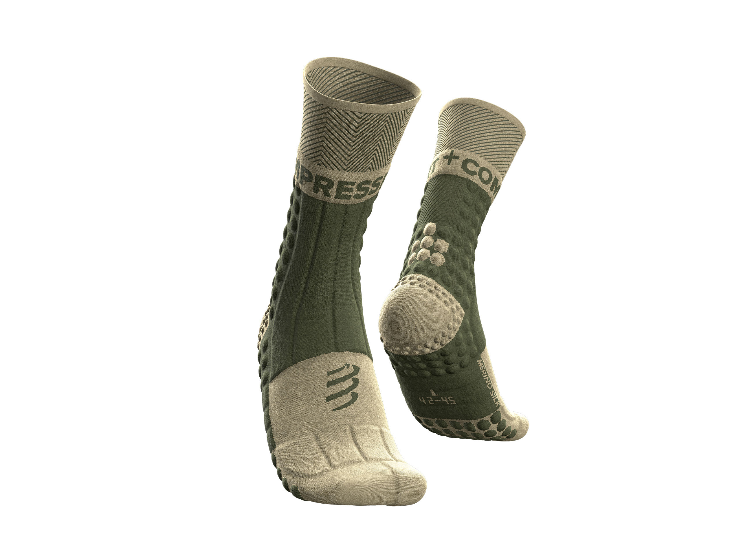 Pro Racing Socks Winter Trail - Dusty Olive