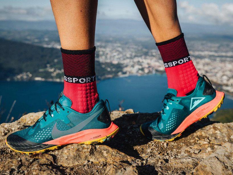 Pro Racing Socks Winter Trail - Red Black