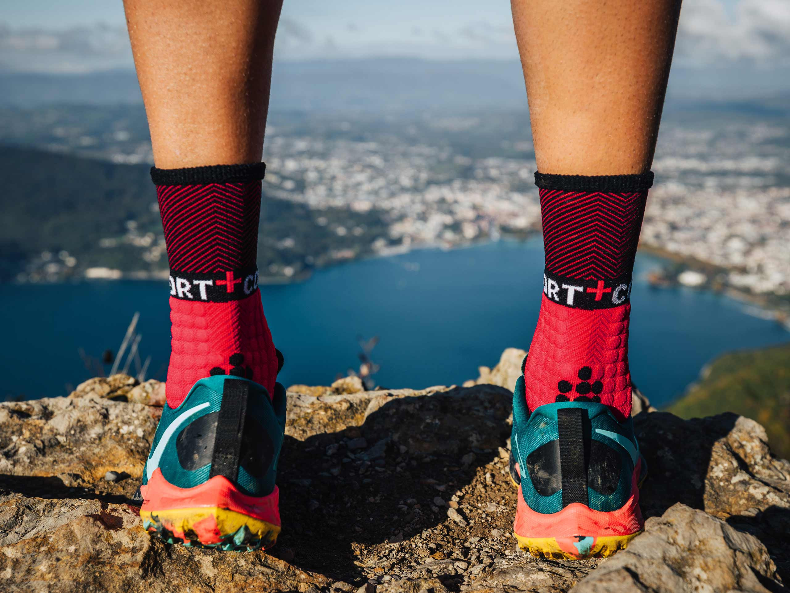Calcetines Prs V3.0 Winter Trail - Red