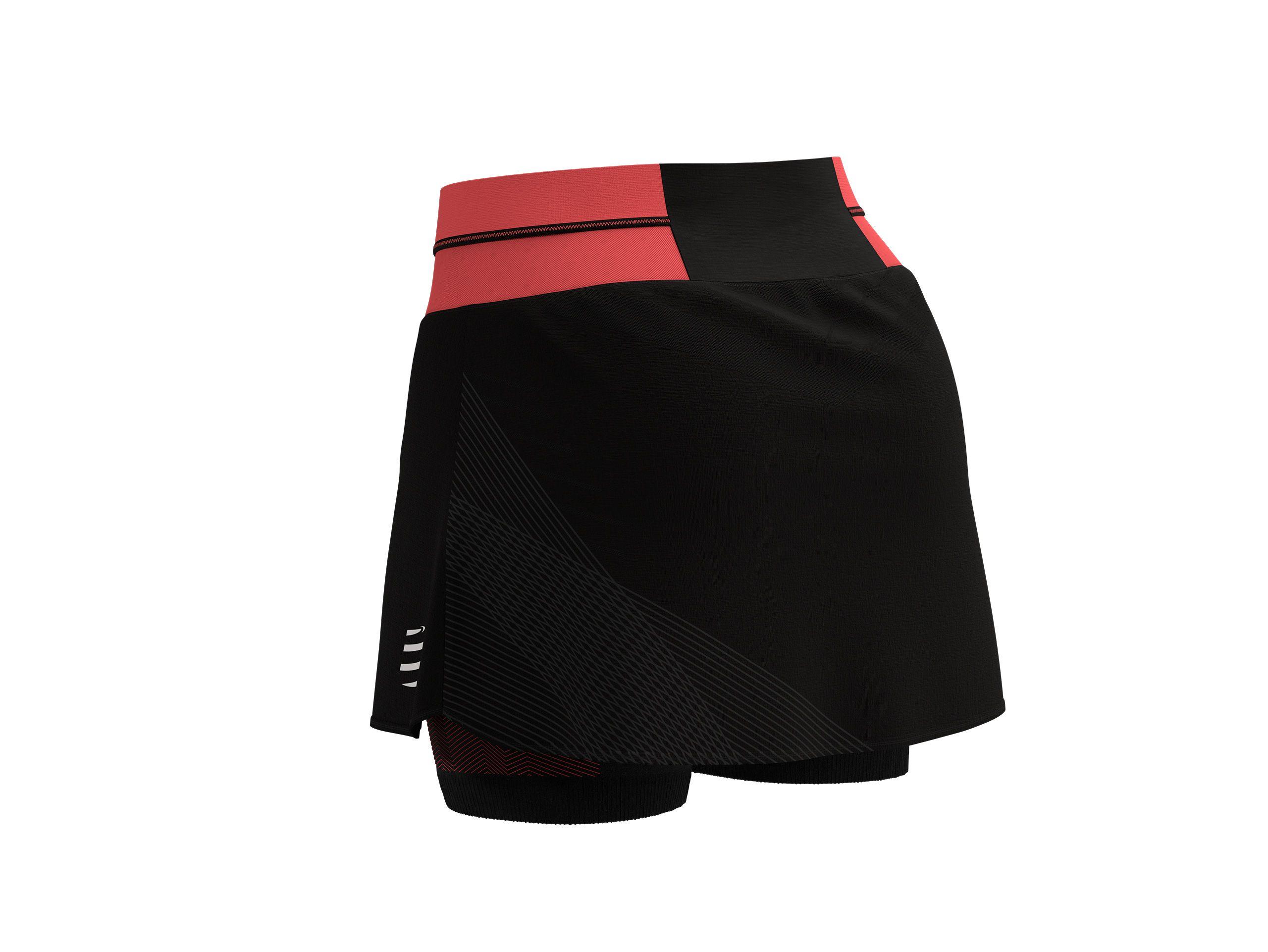 Performance Skirt W BLACK/CORAL