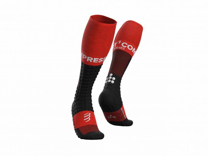 Skimo Full Socks - Black Red
