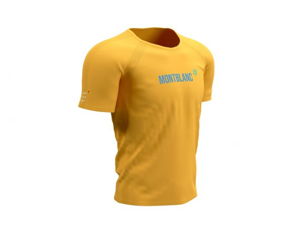 Training Tshirt SS - Mont Blanc 2021 OCHRE