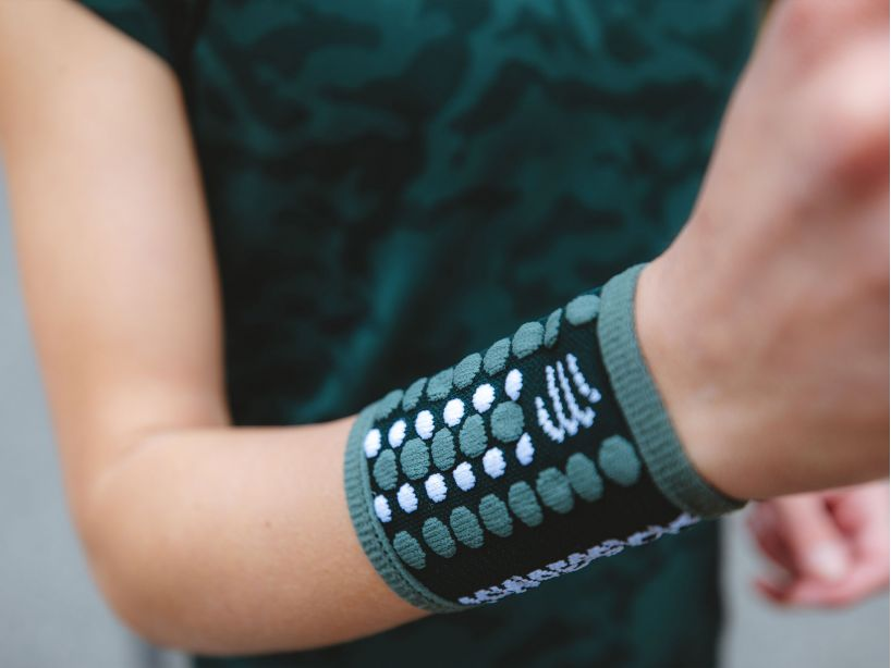 Sweatbands 3D.Dots GREEN GABLES/S PINE