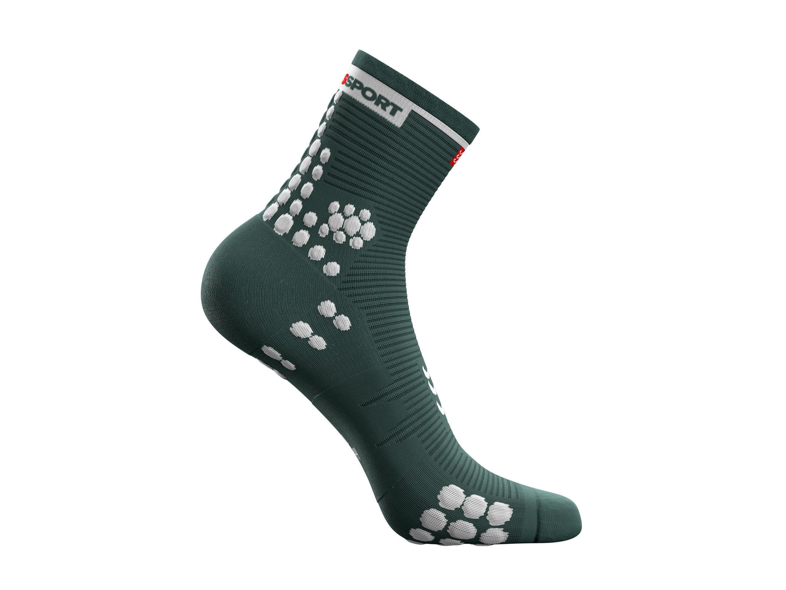 Pro Racing Socks v3.0 Run High - Silver Pine / White